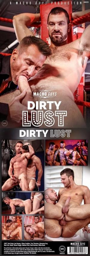 MachoGuys – Dirty Lust – DVD