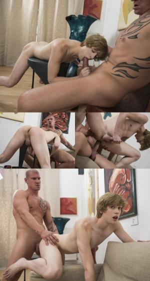 RandyBlue – Sexy daddy Max Born barebacks ginger twink Johannes Lars