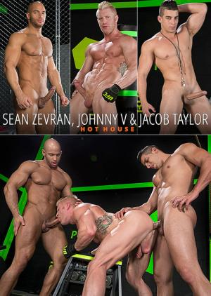 HotHouse – The Trainer – Johnny V bottoms for Sean Zevran & Jacob Taylor