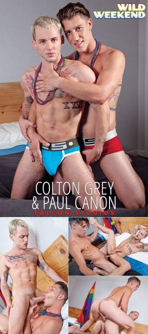 FalconStudios – Wild Weekend – Part 2 – Paul Canon fucks Colton Grey