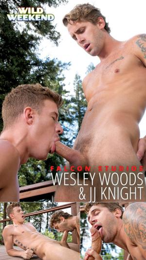 FalconStudios – Wild Weekend – Part 2 – JJ Knight and Wesley Woods blow each other