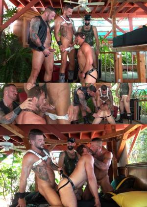 RawandRough – Pound My Puppy – Boy Fillmore, Ace Era, Dolf Dietrich & Hugh Hunter – Bareback