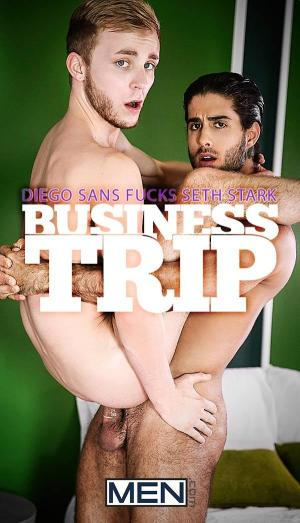 TheGayOffice – Business Trip – Diego Sans Fucks Seth Stark – Men.com
