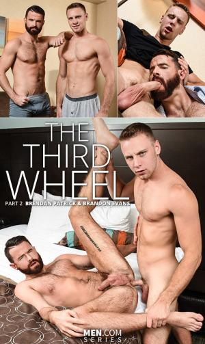 Str8toGay – The Third Wheel Part 2 – Brandon Evans fucks Brendan Patrick – Men.com