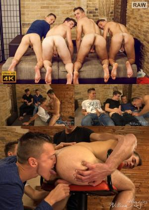 WilliamHiggins – Wank Party 2016 #10, Part 1 RAW – WANK PARTY – Alan Carly, Dusan Polanek, Martin Polnak & Peter Andre