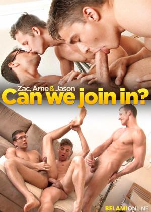 BelAmiOnline – Jason Clark gets fucked bareback by Zac DeHaan and Arne Coen