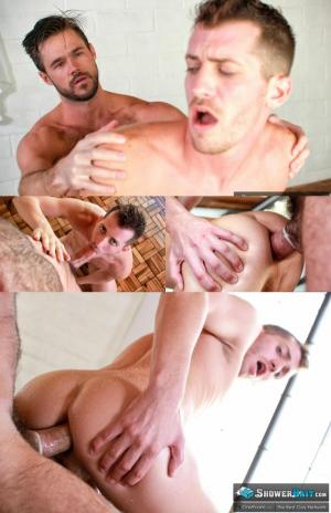 Shower Bait – Bathtub Antics – Mike de Marko & Shawn Andrews – GayRoom