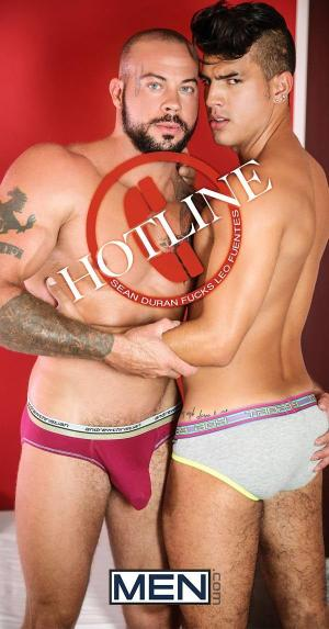 DrillMyHole – HOTLINE Part 3 – Sean Duran Fucks Leo Fuentes – Men.com