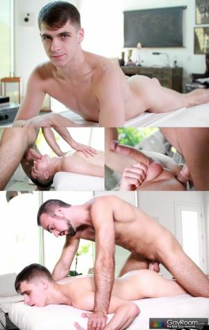 GayRoom – Massage Bait – More Than a Rub – Mason Lear & Kory Houston