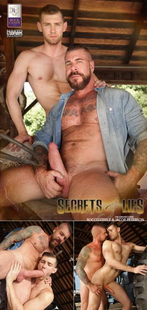 NakedSword – Secrets and Lies: Scene 4 – Forgive Me Father – Jacob Peterson gets fucked by big-dicked Rocco Steele