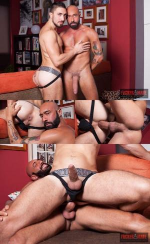 FuckerMate – The Italian Job – gianni Maggio & Gaston Croupier – Bareback