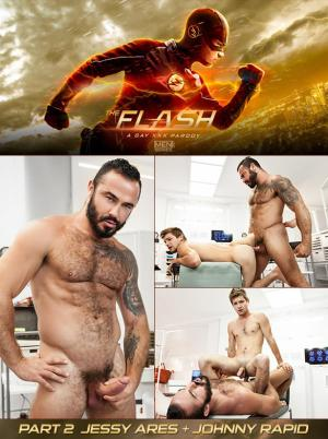 SuperGayHero – The Flash – A Gay XXX Parody, Part 3 – Jessy Ares fucks Johnny Rapid – Men.com
