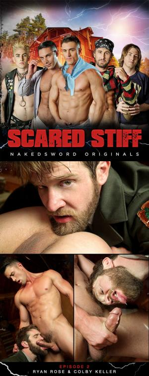 NakedSword – Scared Stiff: Episode 2 – Yes Sir, Ranger Steve – Colby Keller and Ryan Rose suck each other off
