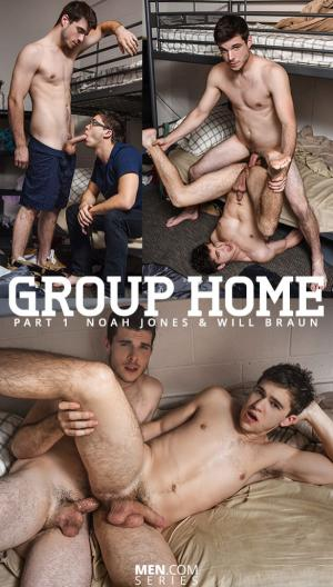 DrillMyHole – Group Home Part 1 – Noah Jones fucks Will Braun – Men.com