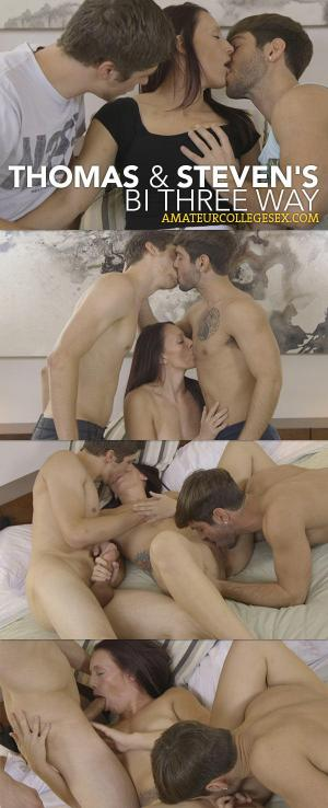 CorbinFisher – Thomas and Steven's Bi Three Way