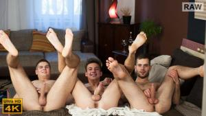 WilliamHiggins – Tomas, Alan & Martin – FULL CONTACT – Alan Carly, Martin Polnak & Tomas Fuk