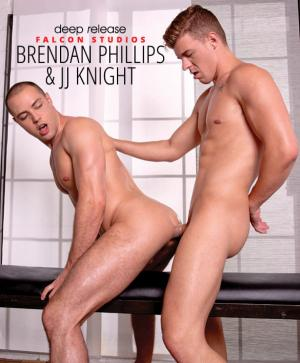 FalconStudios – Deep Release – Brendan Phillips takes JJ Knight's thick cock