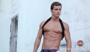 AllAmericanGuys – Kevin B – Interview Sexy Studio Film