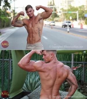 AllAmericanGuys – Michael H – Behind The Scenes Part 2