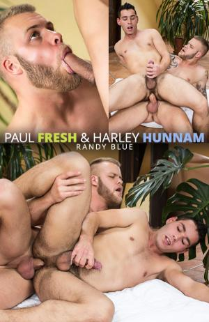 RandyBlue – Sexy straight muscle bear Paul Fresh barebacks Euro hunk Harley Hunnam