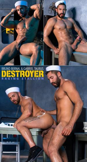 RagingStallion – Destroyer – Gabriel Taurus bangs Bruno Bernal