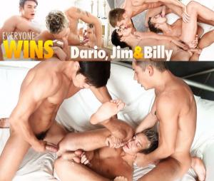 BelAmiOnline – Everyone Wins Dario, Jimmy & Billy – Part 1 – Dario Dolce, Billy Cotton & Jim Kerouac – Bareback