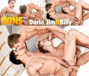 BelAmiOnline – Everyone Wins Dario, Jimmy & Billy – Part 2 – Dario Dolce, Billy Cotton & Jim Kerouac – Bareback