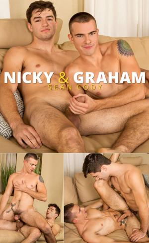 SeanCody – Newcomer Nicky fucks Graham bareback