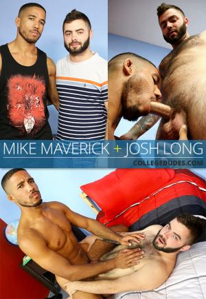 CollegeDudes – Josh Long fucks Mike Maverick