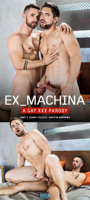 SuperGayHero – Ex-Machina: A Gay XXX Parody, Part 3 – Sunny Colucci fucks Griffin Barrows – Men.com