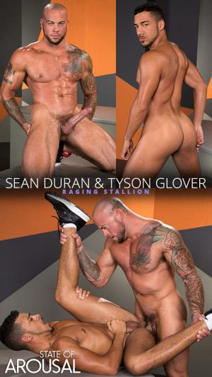 RagingStallion – State of Arousal – Sean Duran pounds Tyson Glover