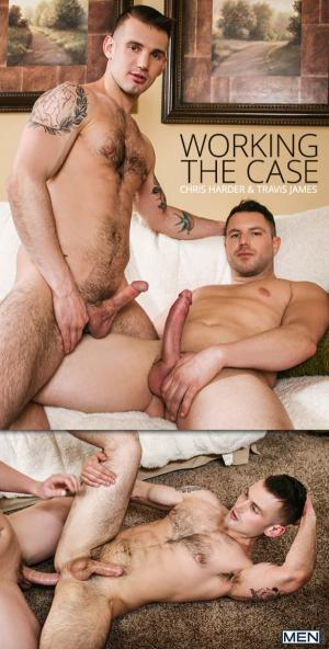 DrillMyHole – Working the Case – Travis James fucks Chris Harder – Men.com