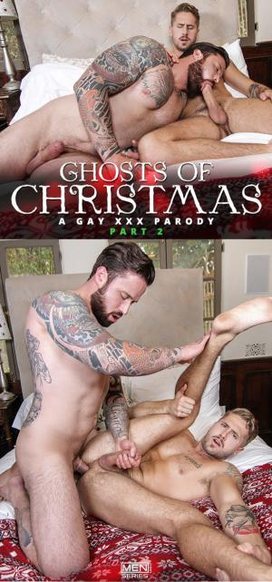 DrillMyHole – Ghosts Of Christmas – A Gay XXX Parody Part 2 – Wesley Woods & Jordan Levine – Men.com