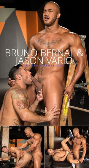 RagingStallion – Backstage Pass 2 – Jason Vario bangs Bruno Bernal