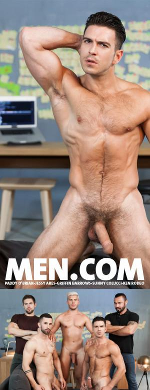 SuperGayHero – Ex-Machina Part 5  – Paddy O'Brian ,Jessy Ares ,Griffin Barrows ,Sunny Colucci and Ken Rodeo – Men.com