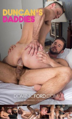 DominicFord – Duncan's Daddies Scene 2 – Mike De Marko Fucks Duncan Black