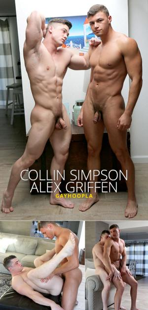 GayHoopla – Collin Simpson and Alex Griffen flip fuck