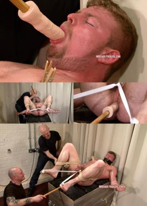 BreederFuckers – Muscle Lad Brad Dildo Fucked