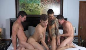 ColbyKnox – 4Play – Colby Chambers, Corbin Colby, Jae Gorgeous & Mickey Knox