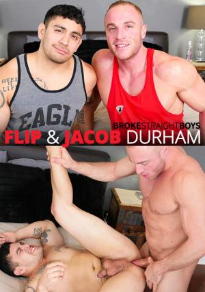 BrokeStraightBoys – Flip gets fucked raw by muscle stud Jacob Durham