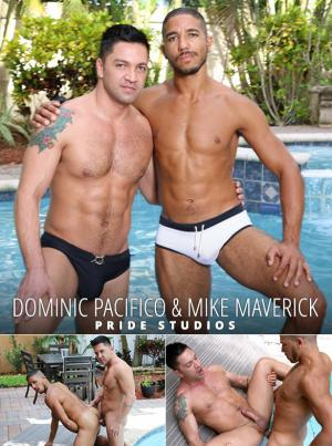 Pride Studios – Pool Side Encounter – Dominic Pacifico and Mike Maverick flip fuck