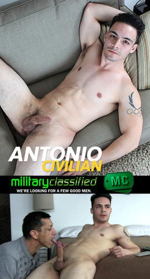 MilitaryClassified – Antonio – Civilian – Blowjob