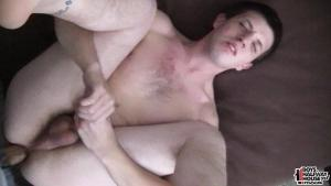 BoysHalfwayHouse – Shoving A Load Into A Newbie – Bareback
