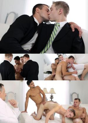 MormonBoyz – Elder Berry & Elder Stewart – ADOPTION CEREMONY – Bareback