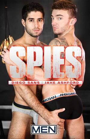 DrillMyHole – SPIES Part 3 – Diego Sans Fucks Jake Ashford – Men.com