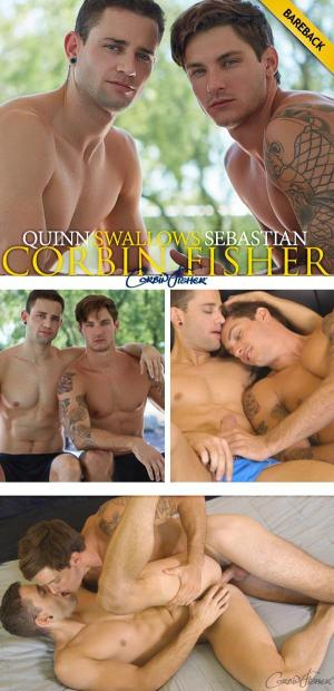 CorbinFisher – Quinn Swallows Sebastian – Bareback