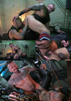 RawandRough – Don't Fuck with the Hunter – Hugh Hunter & Josh Dors  – Bareback