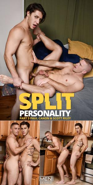DrillMyHole – Split Personality Part 3 – Paul Canon fucks Scott Riley – Men.com