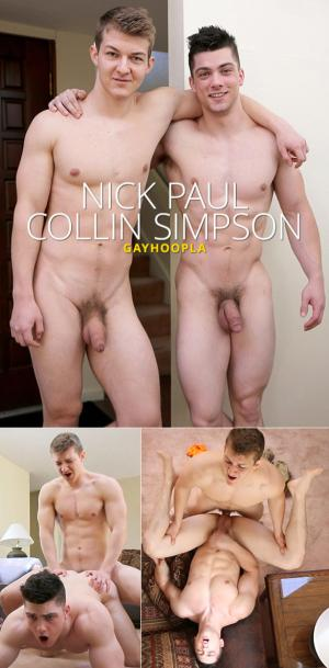 GayHoopla – Nick Paul bangs Collin Simpson