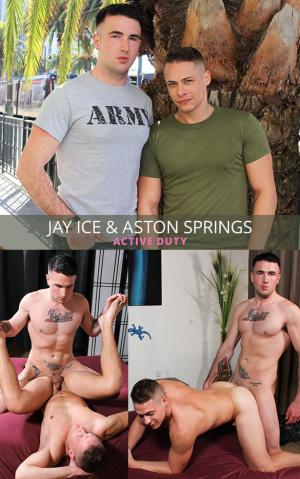 ActiveDuty – Aston Springs & Jay Ice – Bareback